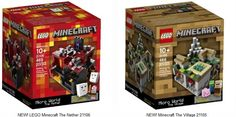 New Lego Minecraft Building Sets! Birthday or Christmas gift idea for Lucas for Top Gifts For Boys, Tween Boy Gifts, Cool Toys For Boys, Minecraft Toys For Kids, Lego Minecraft, Lego Lego, Lego Batman, Minecraft Skins, Minecraft Buildings