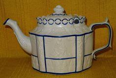 Fine Sowter & Co., Mexborough, Felsparic Stoneware TEA POT  22 , c1800-10