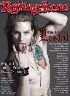 The Vampire Lestat-this brought a smile on my face :D