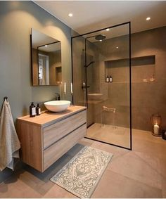 44 magnificient scandinavian bathroom design ideas that looks cool – Bathroom Inspiration Scandinavian Bathroom Design Ideas, Modern Bathroom Design, Bathroom Interior Design, Bath Design, Key Design, Toilet And Bathroom Design, Simple Bathroom Designs, Bathroom Vinyl, Brown Bathroom