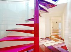 London's Rainbow Home, designed by Ab Rogers Design in collaboration with DA Studio
