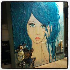 """Teal Girl"" dream and create..."