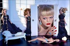 """""""Barbie Mania"""" by Miles Aldridge"""