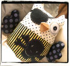 owl pirate plushie