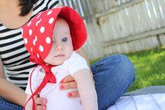 Red: Sun Bonnet