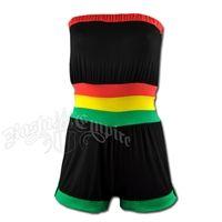 Rasta and Reggae Tube Jump Suit