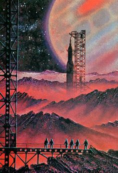 Art,fashion,design,technology etc from the atomic space age Zero Wallpaper, Arte Sci Fi, 70s Sci Fi Art, New Retro Wave, Retro Poster, Classic Sci Fi, Vintage Space, Futuristic Art, Science Fiction Art
