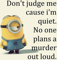 Best of LOL pictures Funny Minions AM, Thursday September 2015 PDT) - 10 pics - Minion Quotes Funny Minion Pictures, Funny Minion Memes, Minions Quotes, Funny Relatable Memes, Funny Texts, Funny Jokes, Minion Humor, Funny Pics, Funny Thoughts