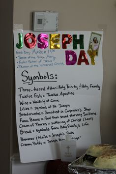 Celebrating St. Joseph's Feast Day (March 19th) the Italian way: with a Joseph's Table