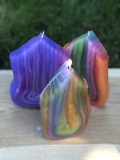 Fancy Candles, Unique Candles, Best Candles, Unique Gifts, Best Gifts, Different Shapes, Candle Making, Colorful Decor, Birthday Candles
