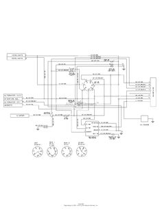 3 way switch wiring diagram Électricité cub cadet ltx 1042