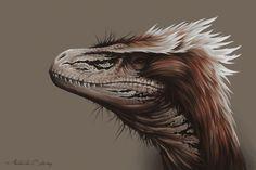 Utahraptor by AntarcticSpring.deviantart.com on @deviantART