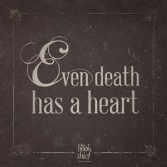 Death Has The biggest heart for it Has Seen The Real love