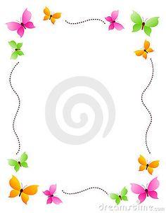 Papillon frontière / frame