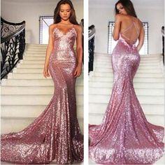 Sequin Prom Dress,Sexy Prom Dress,Sparkle Prom Dress ,Popular Prom Dress,Mermaid…