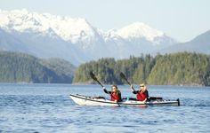 Kayaking in Tofino | Wickaninnish Inn, Tofino, Canada