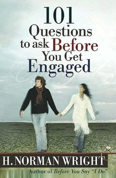101 Questions to Ask before You Get Engaged - H. Norman Wright.  Mom, Dad, Jon, and I have been going through a good number of the questions in this book and it's led to some great conversations!  Jon and I are planning on reading it together - just the two of us - as well.  :)