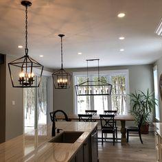 Birch Lane: Farmhouse & Traditional Furniture – Made to Last - Modern Farmhouse Light Fixtures, Dining Room Light Fixtures, Dining Lighting, Kitchen Island Lighting, Kitchen Lighting Fixtures, Kitchen Pendant Lighting, Kitchen Pendants, Home Lighting, Light Pendant