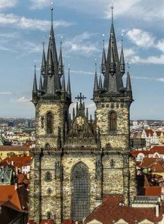 prague - our lady of tyn by pingallery
