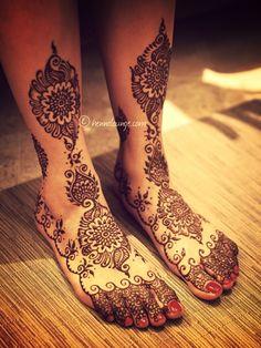 ♥ bride ♥ Indian ♥ fusion ♥ wedding ♥ mehndi ♥ henna ♥
