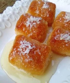 Greek Sweets, Dessert Recipes, Desserts, Greek Recipes, Afternoon Tea, French Toast, Pudding, Treats, Breakfast