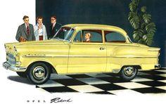Opel Rekord, 1957