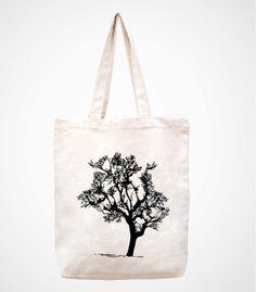 treeCanvas Bag Tote Bag Bag Shopping Bag Market Bag by canvasanni, $11.90