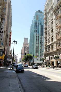 I love Downtown LA. It's so raw. It's been my home for more than 3 years.
