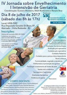 Brasil:Jornada sobre Envejecimiento y Geriatría | Central Informativa del Adulto Mayor