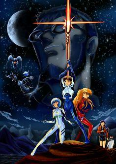 Risultati immagini per evangelion star wars Neon Genesis Evangelion, Manga Girl, Manga Anime, Anime Art, Evangelion Tattoo, Cyberpunk Anime, Good Anime Series, Cultura Pop, Fantasy Creatures
