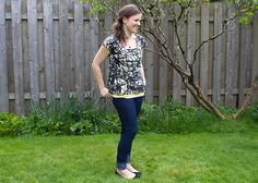 As a part of my guest blogging gig for Britex Fabrics, they recently sent some of their new knit fabric to try out! I was really excited to see that Britex is now offering knit fabric online, and f...