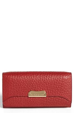 f6255fb94e15 Burberry  Penrose  Continental Wallet available at  Nordstrom Continental  Wallet