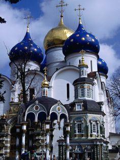 some of my favorite onion domes - Sergiev Posad