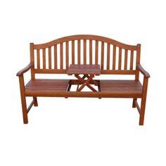 Nice 3 Sitzer Gartenbank PHUKET Eukalyptus Holz Bank Mit Tisch Sitzbank Massiv  Garten Design Inspirations