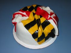 Maryland Flag Cake