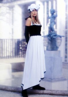 Chanel Spring/Summer 1993: Claudia Schiffer by Karl Lagerfeld