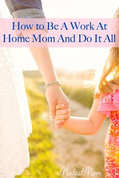How to Be A Work At Home Mom And Do It All - Trying to juggle home, family, and homeschooling is difficult, but I share how we do it!