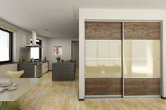 modern closet door ideas - Google Search