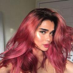 Hair color omfg (pic: Cleo Lazuli) - New Hair Design Hair Dye Colors, Cool Hair Color, Coloured Hair, Dye My Hair, Aesthetic Hair, Gorgeous Hair, Pretty Hairstyles, Brown Hairstyles, Hairstyle Ideas