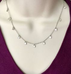 .925 Sterling Silver 12mm Pearl Strand CZ Pave Ball Lock Necklace