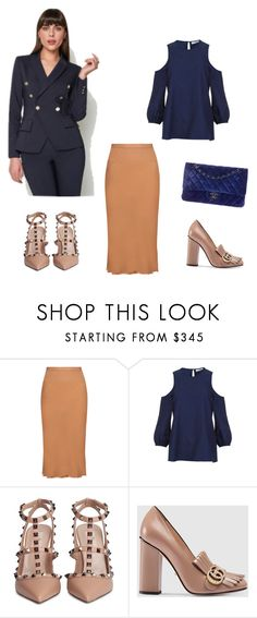 """""""Outfit for Weekend"""" by klimkinaoxana ❤ liked on Polyvore featuring Rick Owens, TIBI, Valentino, Gucci and Chanel"""