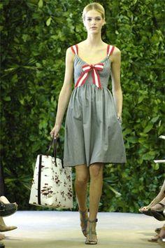 Carolina Herrera Resort 2008 Fashion Show Collection