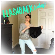 Flashback Friday!  I was digging in my closet to inventory my spring wardrobe and found these bad boys tucked away under one of the clothes containers.  It's not a parachute - these were my underwear!  Yes just two years ago I wore these spanx-style underwear EVERY DAY.  I needed them to fit in my size 10 pants they would button comfortable without them.  I can vividly remember how much I hated my body. I remember how unattractive I felt.  I remember how disappointed I was in myself because…