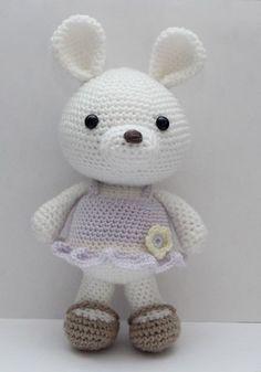 Amigurumi Crochet Pattern  Lavender Bunny by littlemuggles on Etsy, $5.00