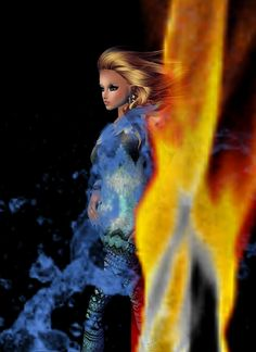 """Fire and Ice"" Captured Inside IMVU - Join the Fun!"