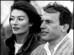 """ Un Homme et Une Femme "" by Claude Lelouch with Anouk Aimée and Jean-Louis Trintignant Movie Duos, Film Movie, Jean Claude Pascal, Anouk Aimée, Claude Lelouch, Best Romantic Movies, Jean Gabin, Good Movies To Watch, Woman Movie"