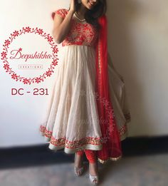 DC 231For queries kindly inbox or Email - deepshikhacreations@gmail.com Whatsapp / Call - 9059683293 25 April 2016 29 November 2016
