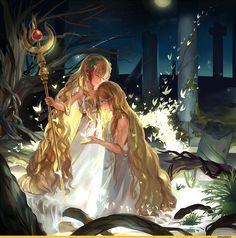 Scheherazade   シェヘラザード & Titus Alexius   ティトス・アレキウス - Magi: The Labyrinth of Magic