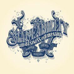 Shareability wall by Abraham García