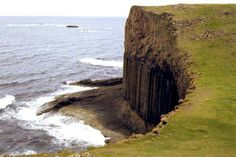 Fingal's Cave, a Giant Natural Sea Cathedral - Tourism On The Edge. Staffa, Scotland